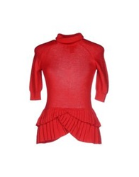 Class Roberto Cavalli Turtlenecks Red