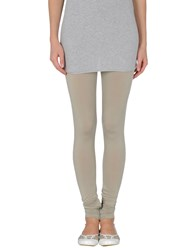 Maurizio Pecoraro Trousers Leggings Women Light Grey