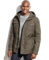 Dockers Hooded Four Pocket Anorak Olive