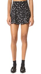 Wildfox Couture Swing Set Skirt Clean Black