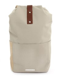 Brooks Dalson Utility Small Sand Canvas Rucksack
