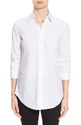 Women's Paperwhite Gathered Sleeve Shirt