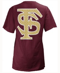 Royce Apparel Inc Women's Florida State Seminoles Quatre Logo Big T Shirt Maroon