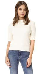 Demy Lee Fawn Sweater White