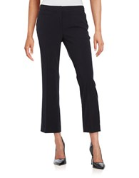 Michael Michael Kors Cropped Flared Pants New Navy