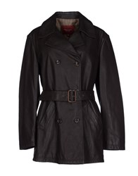 Henry Cotton's Coats And Jackets Full Length Jackets Women Dark Brown