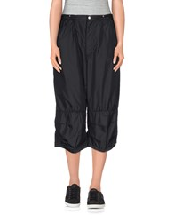 Final Home Trousers 3 4 Length Trousers Women Black