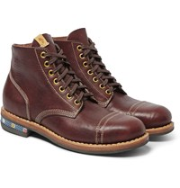Visvim Ncf Cap Leather Boots