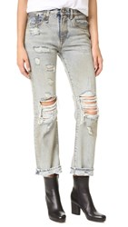 R 13 Catherine Relaxed Straight Leg Jeans Lincoln