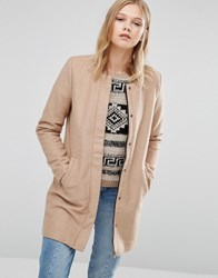 Only Sidney Wool Coat Camel Brown