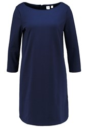Gap Jersey Dress Navy Uniform Dark Blue