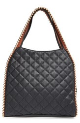 Big Buddha 'Jgeorgie' Quilted Faux Leather Ball Tote