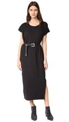 Oak Box Maxi Dress Black