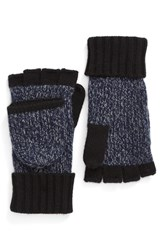 Rag And Bone Women's 'Francesca' Convertible Cashmere Mittens Navy