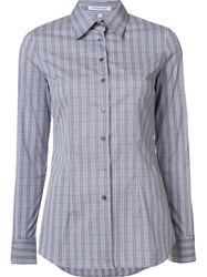 Walter Voulaz Plaid Shirt Grey