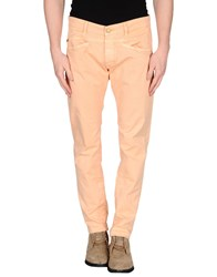 Gas Jeans Gas Trousers Casual Trousers Men Salmon Pink