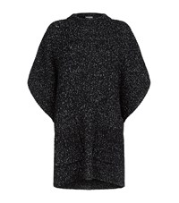 See By Chloe Oversized Batwing Sweater Female Black