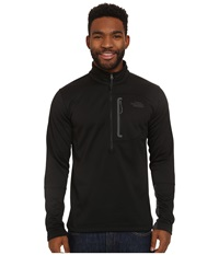 The North Face Canyonlands 1 2 Zip Pullover Tnf Black Men's Long Sleeve Pullover