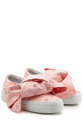 Joshua Sanders Platform Slip On Sneakers With Embroidered Fabric Gr. Eu 36