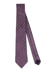 Les Copains Accessories Ties Men Mauve