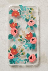 Anthropologie Gardenbloom Iphone 6 And 6 Plus Case Red Motif