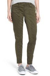 Women's Bp. Utility Stretch Cotton Pants Olive Dark