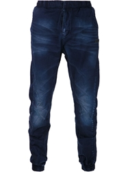 Prps Goods And Co. Faded Wash Trousers Blue