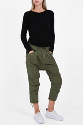 R 13 R13 Women S Cargo Harem Trousers Boutique1 Khaki