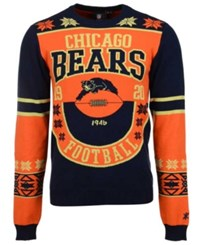 Forever Collectibles Men's Chicago Bears Retro Christmas Sweater