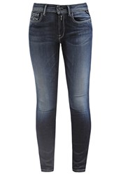 Replay Hyperflex Slim Fit Jeans Blue Black Dark Blue