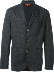 Barena Three Button Blazer Grey