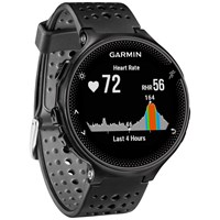 Garmin Forerunner 235 With Wrist Based Heart Rate Technology Black Grey