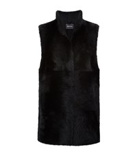 Whistles Sheepskin Gilet Female