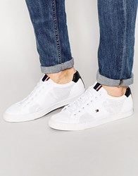 Tommy Hilfiger Jonas Knitted Trainers White