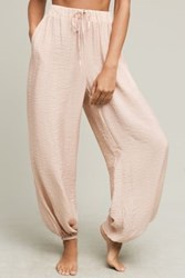 Anthropologie Storefront Joggers Rose