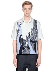 Antonio Marras Embellished Cotton Short Sleeve Shirt