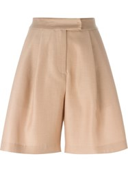 Dusan Wide Shorts Nude And Neutrals