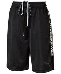 Puma Mesh Boxing Shorts Black