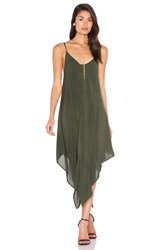 Blue Life Sundown Maxi Dress Olive
