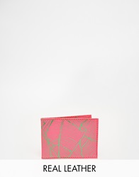 Undercover Leather Travel Card Holder Pi1pink1