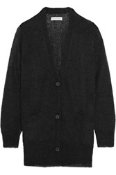 Etoile Isabel Marant Clawson Mohair Blend Cardigan Black