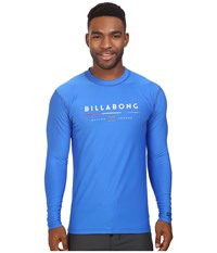Billabong Tri Unity Long Sleeve Rashguard Royal Men's Swimwear Navy