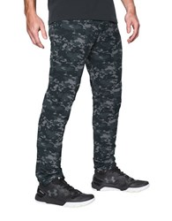 Under Armour Ua Circuit Woven Tapered Active Pants Black Camo