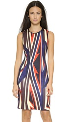 Clover Canyon Dynamic Sunset Dress Multi