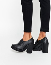 Asos Octopus Chunky Loafers Black