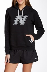 New Balance Essential Pullover Hoodie Black