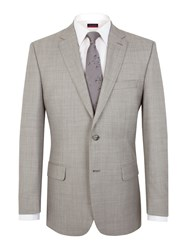 Pierre Cardin Pick And Pick Regular Fit Jacket Light Grey