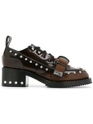N 21 No21 Buckle Detail Oxford Shoes Brown