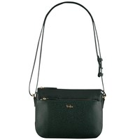 Tula Rye Leather Across Body Bag Green