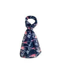 Forever Collectibles New England Patriots All Over Logo Infinity Scarf Navy